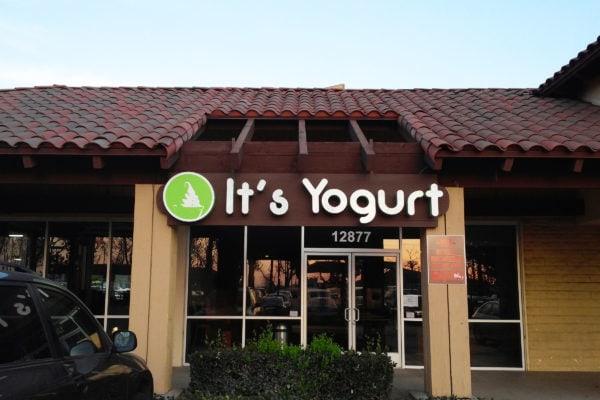 It's Yogurt Sign by Brandex