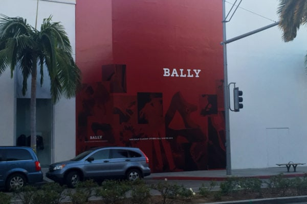 Bally Commercial Sign