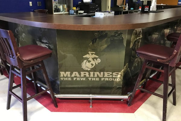 Marines coverings