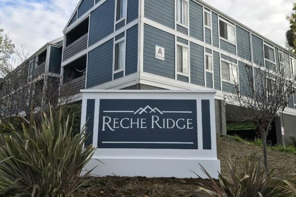Reche Ridge Sign by Brandex