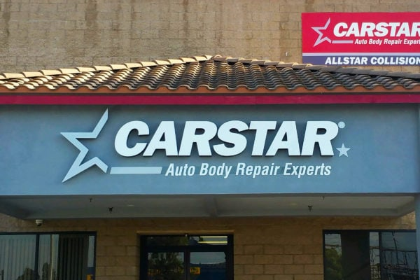 Carstar Sign by Brandex