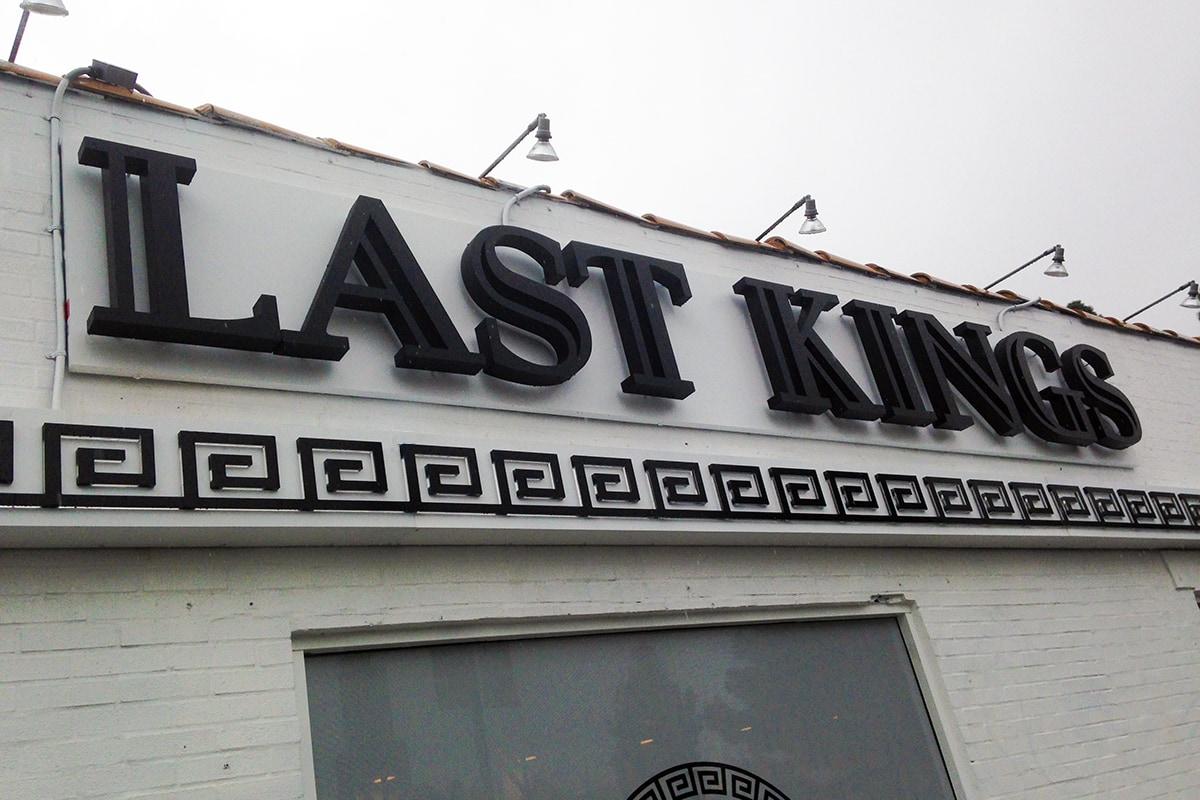Last Kings' Channel Letters