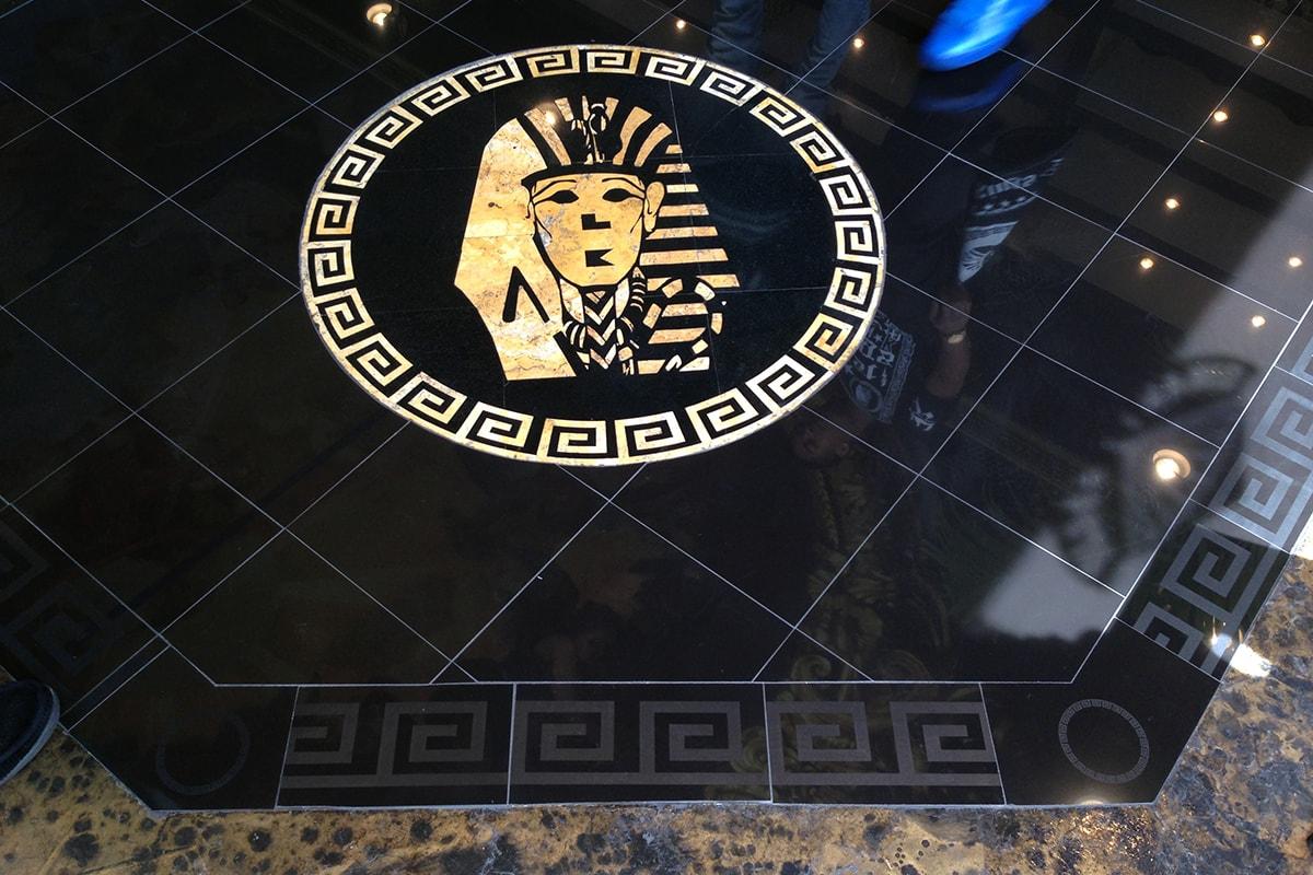 custom floor branding