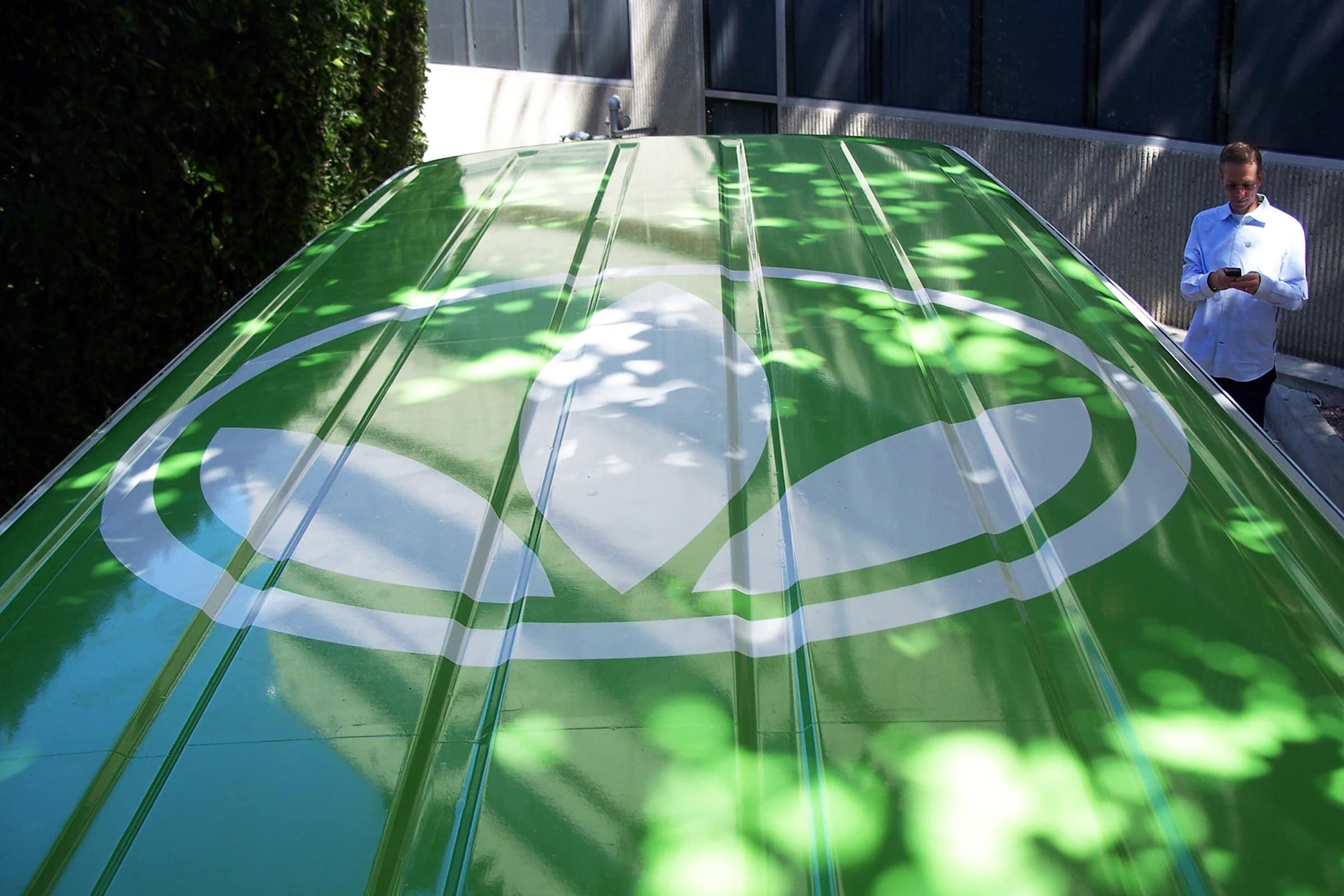 Herbalife branded car